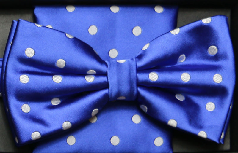 BTHD3 | Basic Dot Bow Tie and Hanky set