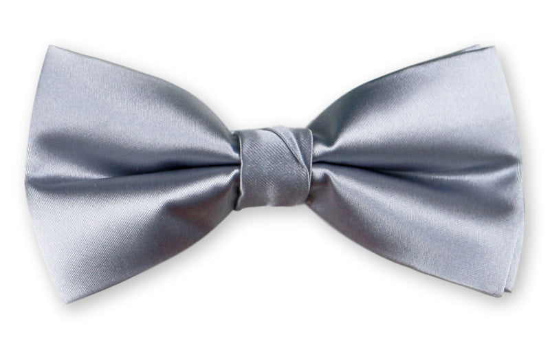 BTHD9 | Basic Solid Bow Tie and Hanky Set