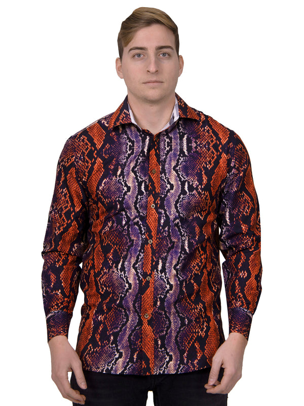 Brooklyn 1991 | Snakeskin Sport Shirt | RT-213