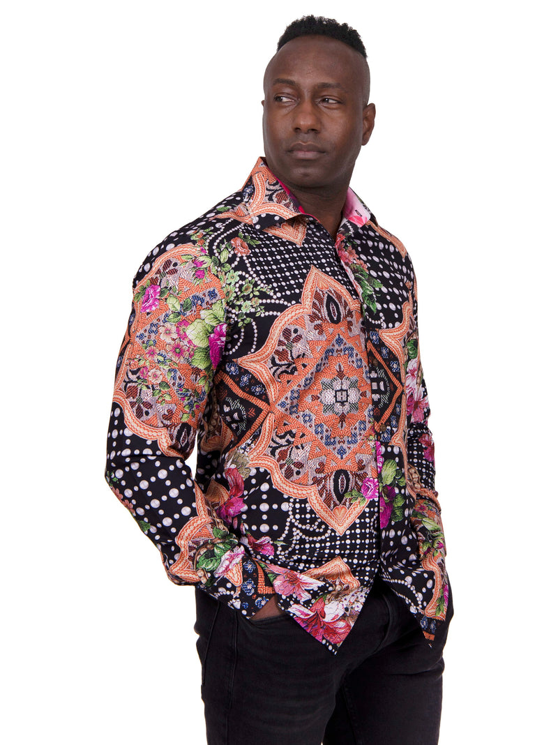 25% OFF | Brooklyn 1991 | Beauty and Darkness Sport Shirt | RT-216