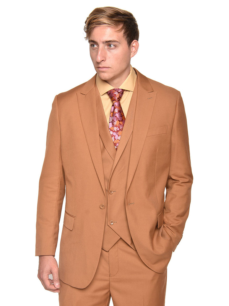 Steven Land | Walter 3 PC Suit | Autumn Rust