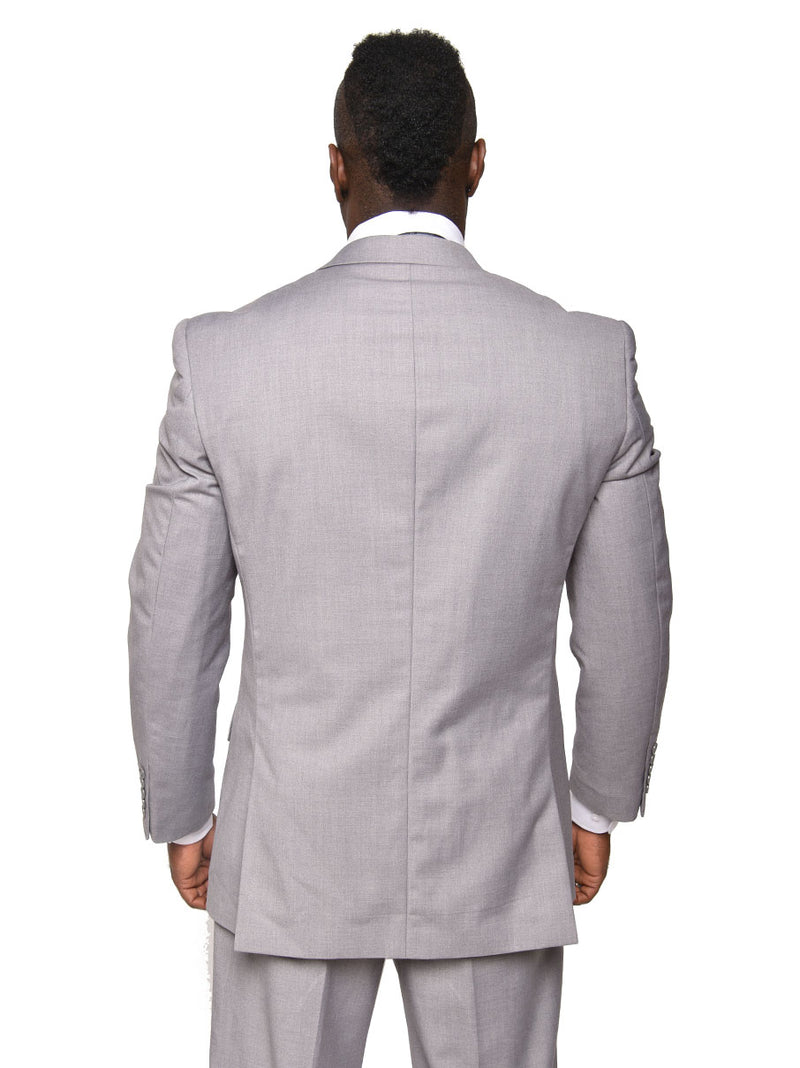 Steven Land | Walter 3 PC Suit | Light Grey