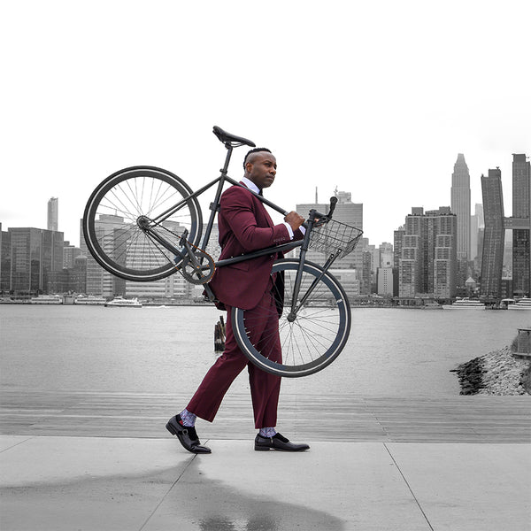 Steven Land | Walter 3 PC Suit | Burgundy