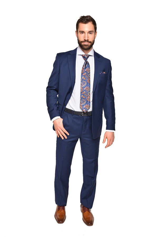 Pietro Suit | SL51 Navy Solid Suit