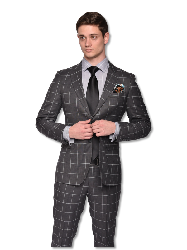 Steven Land Suit | Slim Fit | 2 Piece Dante SL77-553