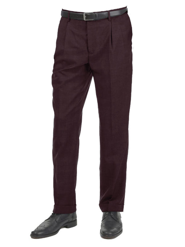 Steven Land | Maxwell Pants | Dark Maroon