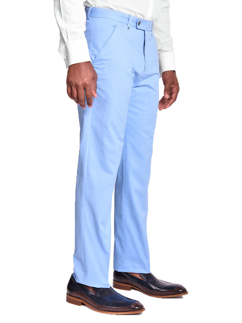 Pants | 100% Cotton Chino Flat Front Pant