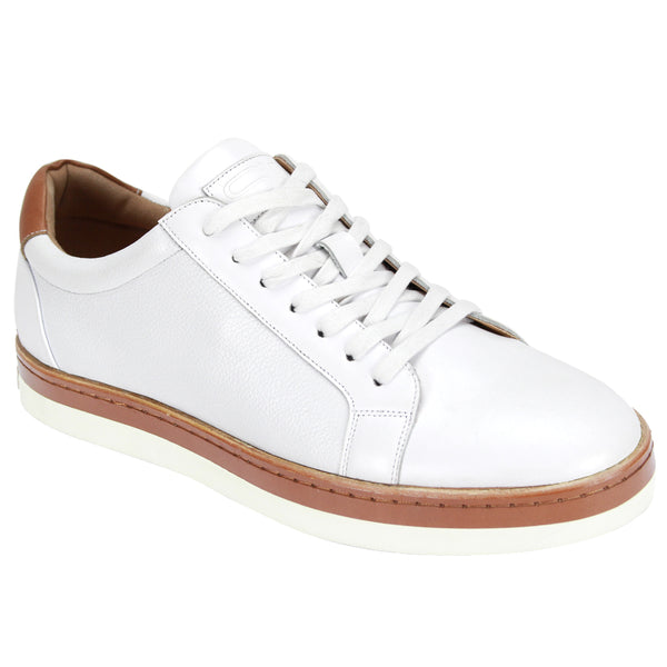 Steven Land Shoes | Liam Sneakers | White