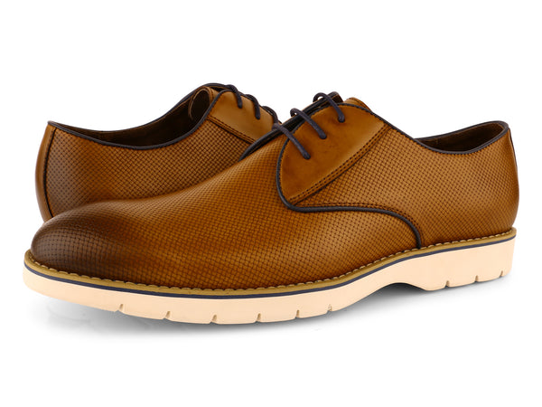 Steven Land Shoes | Harry Cushioned Oxford | Tan