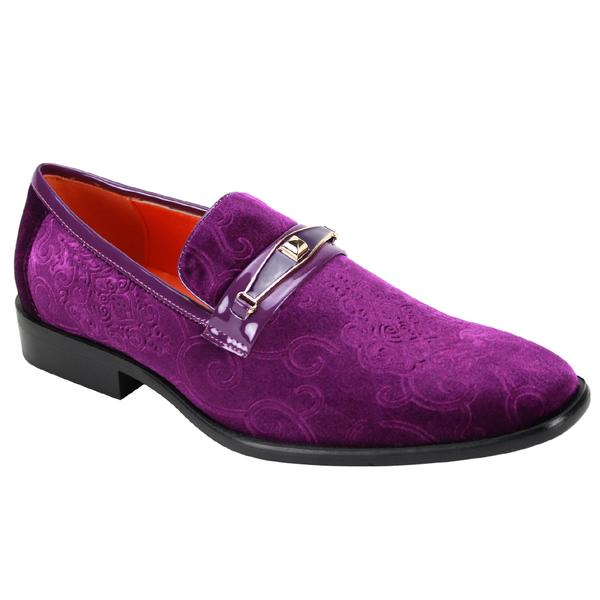 Steven Land Shoes | Versailles Loafer | Eggplant