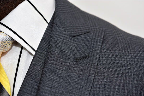 Steven Land | 3 Piece Wool Suit | Walter | Classic Fit | Grey Check