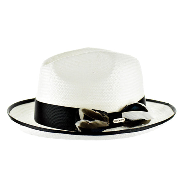 Steven Land Elite Hat Casa Blanca Collection Color White Black
