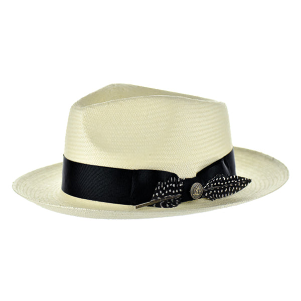 Steven Land Hat Milan Light Natural/Black