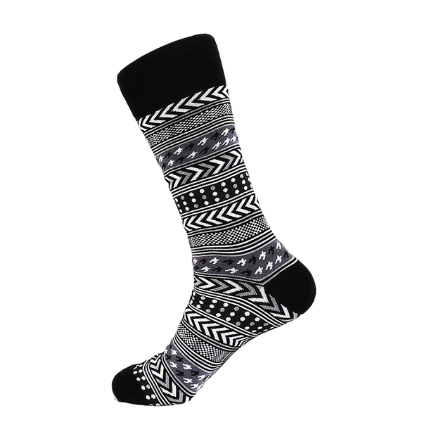 Steven Land | Festive Holiday | Cotton Blend Dress Socks | Pack Of 3