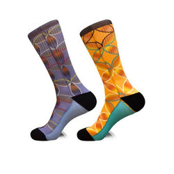 Steven Land | 4D Flower | Cotton Blend Dress Socks | Pack Of 2