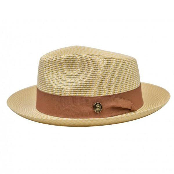 Steven Land Hat Bel-Air Collection Color Ivory/Tan