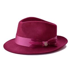 Steven Land Hat Florence Collection Color Burgundy