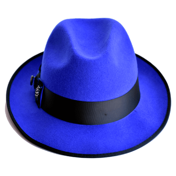 Steven Land Hat Guilano Collection  Color Royal