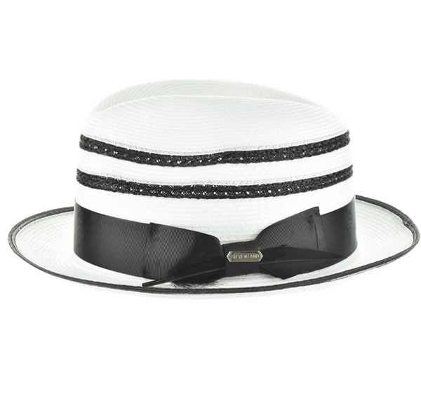 Steven Land Elite Hat Roman Collection Color White/Black