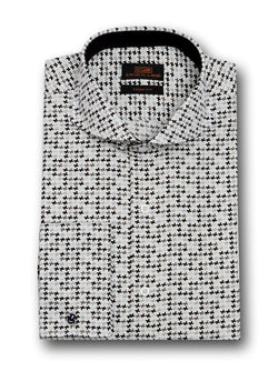 Personality Dress Shirt | TA1712 | Black & White