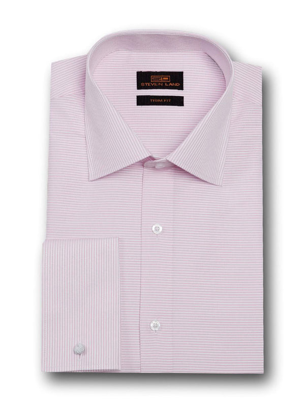 Fashion Stripes Dress Shirt | TA1720 | Pink