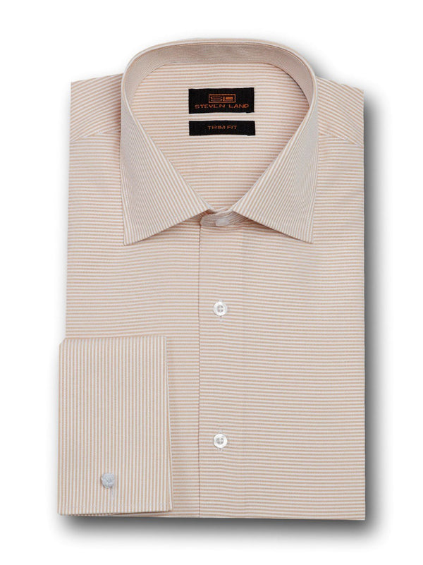 Fashion Stripes Dress Shirt | TA1720 | Sand