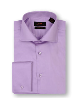 Steven Land Sateen Solid Dress Shirt | TA214 | 100% Cotton