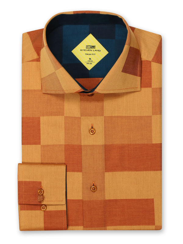 Steven Land | Textured Chess Sport Shirt |  TS-843