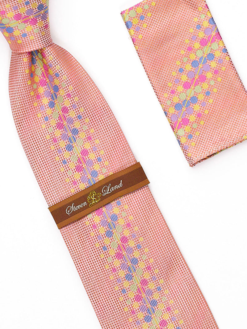 Tie and Hanky Set | 100% silk | Big-Knot | W1580