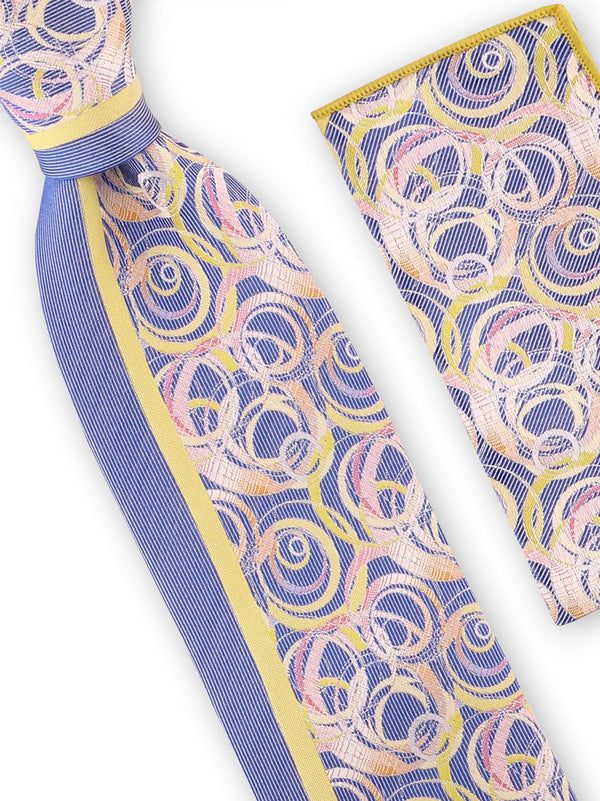 Steven Land | Art Deco Silk Tie | Big Knot | W225