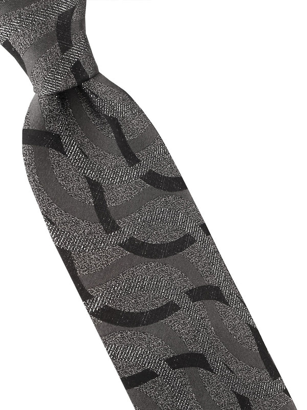 Steven Land | Wheels Of Steel Silk Tie | Big Knot