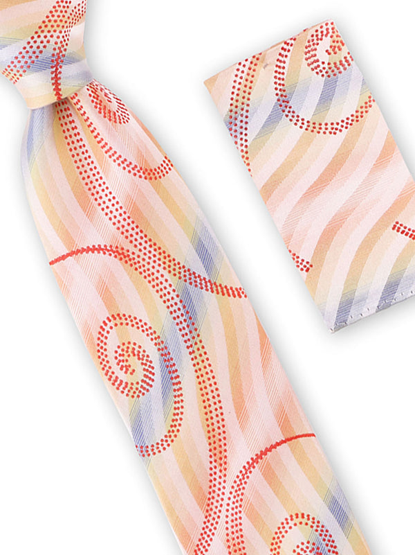 Tie and Hanky Set | 100% silk | Big-Knot | W925