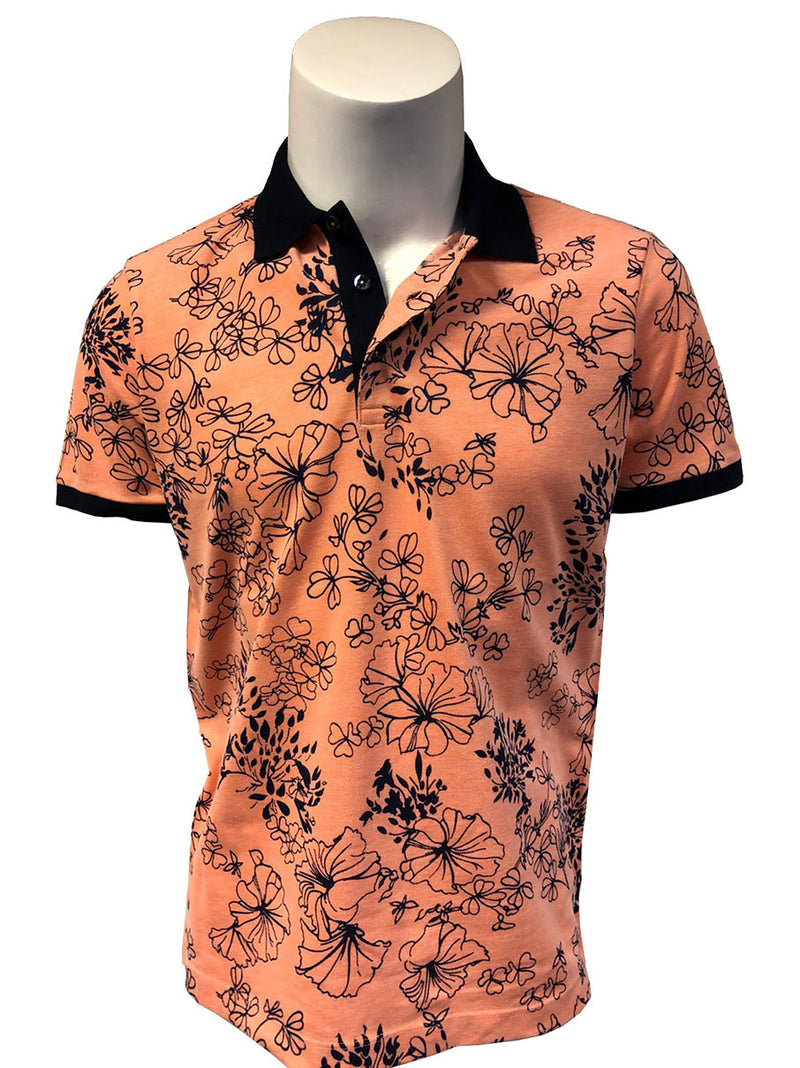 Steven Land Limited Edition Collection | Made In Turkey | Modern Fit | Steven's Favorite Polo Shirt | Orange
