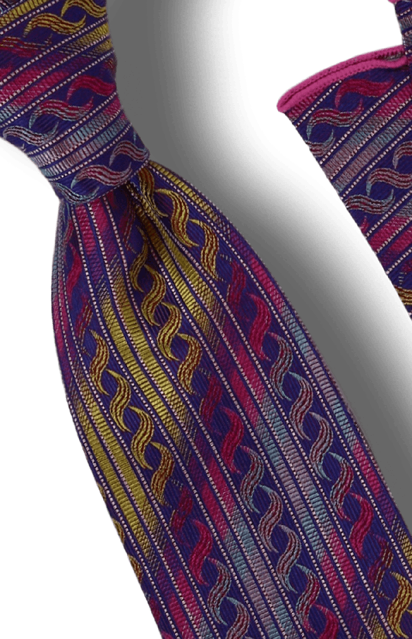 Tie and Hanky Set | 100% silk | Big-Knot | BWR641