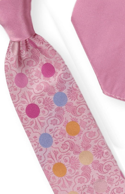 Tie and Hanky Set | 100% silk | Big-Knot |BWU751