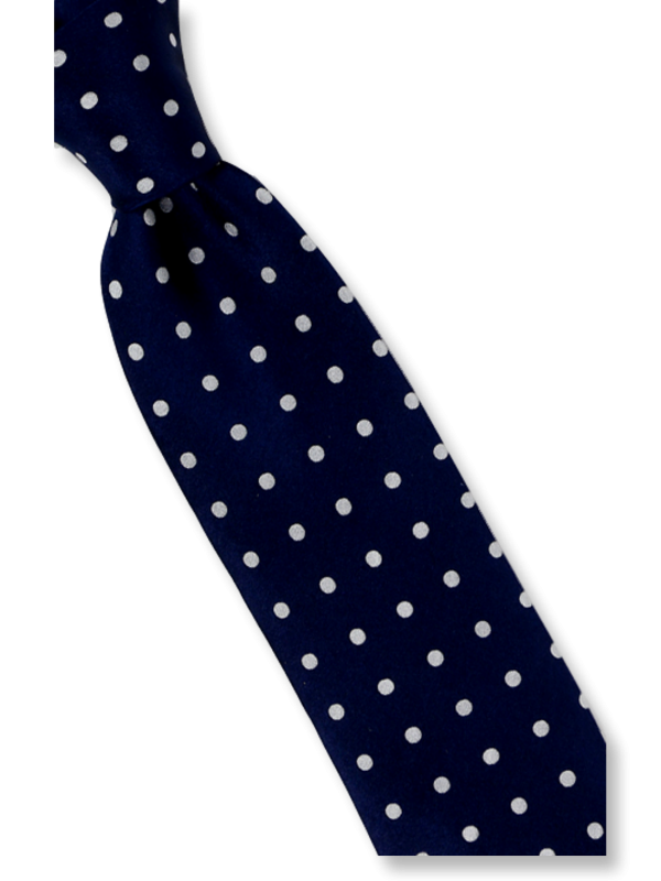 Basic Collection | HD3 | Solid dot pattern tie and hanky set