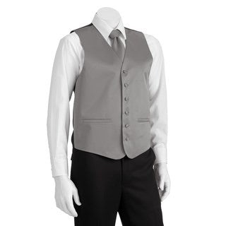 Steven Land Solid 4-pc. Vest with Matching Tie, Bowtie & Pocket Square