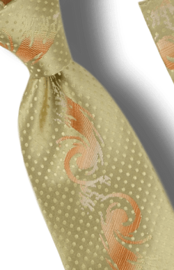 Tie and Hanky Set | 100% silk | Big-Knot | W2642