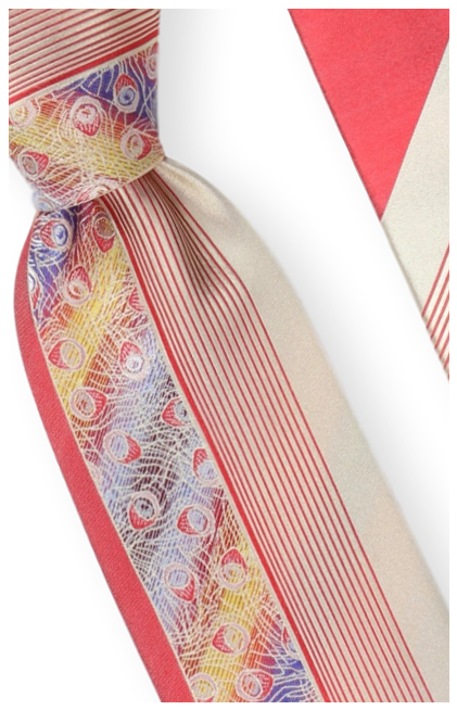 Tie and Hanky Set | 100% silk | Big-Knot | W761