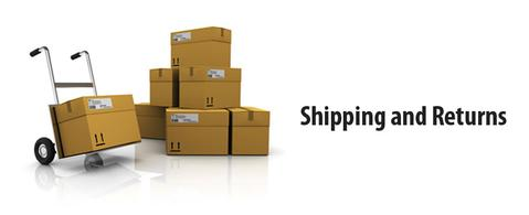 Shipping, Processing, & Returns