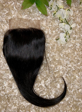 Brazilian Natural Straight Closure