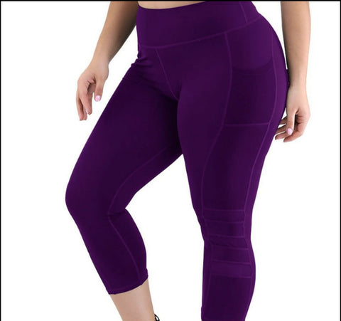 Sexy Queen Yoga Pants (PLUS SIZE)