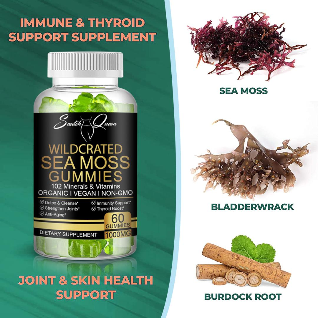 102 Wildcrated Sea Moss Gummies
