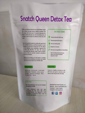 14 Day Organic Herbal Detox Tea