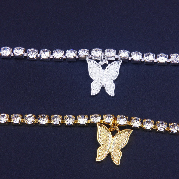 Beautiful Butterflies Belly Chain