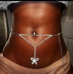 Butterfly Belly Chain