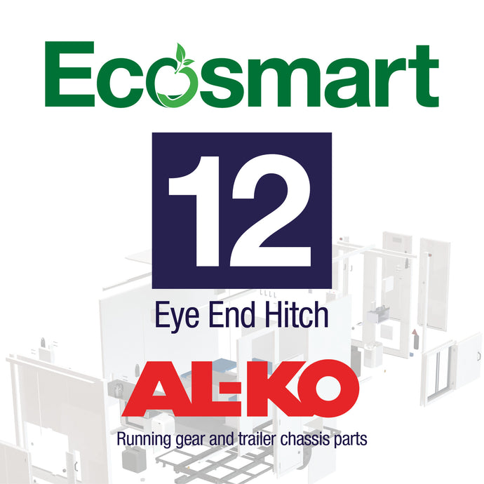 Ecosmart 12: Eye End Hitch: AXLE / OVERRUN / BRAKES / HEAD