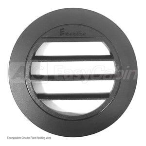 Eberspacher Circular Fixed Heating Vent (Black) (GAP)