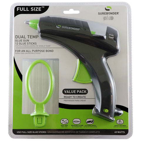 Dual Temperature Regular Full Size Glue Gun Kit
