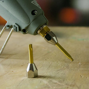 Flat Extension Nozzle For Hot Melt Glue Gun